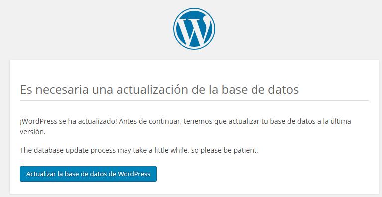 actualizar wordpress a versión en desarrollo 4.4 rc 1