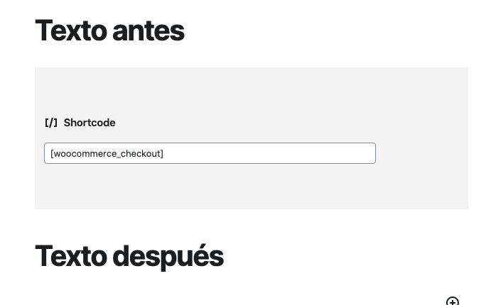 WooCommerce Shortcode - Finalizar compra (checkout) [woocommerce_checkout]