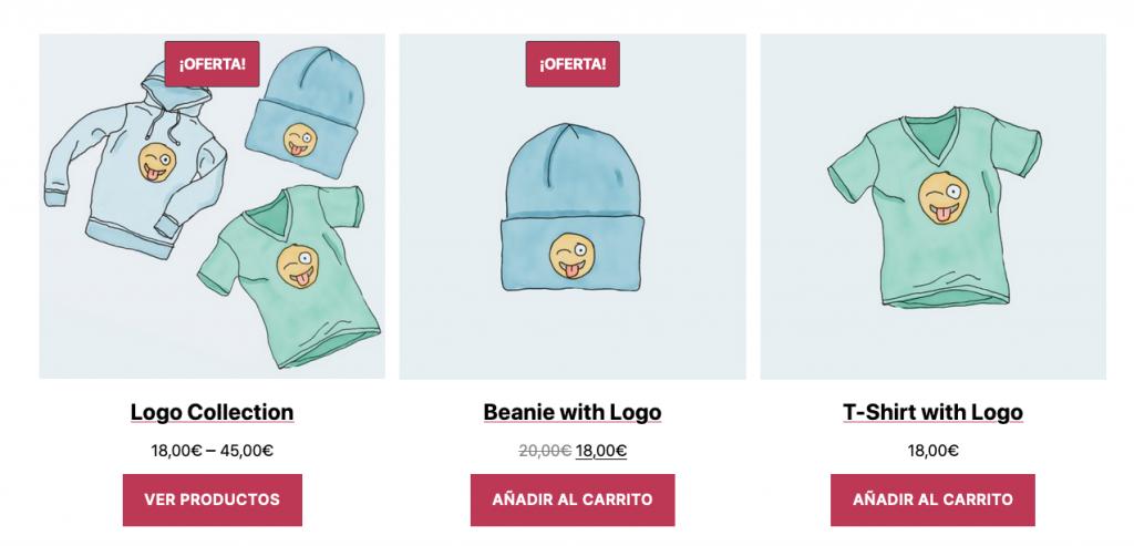 Bloque WooCommerce - Productos por categoría