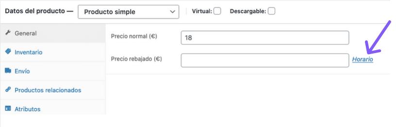 Cómo configurar ofertas temporales en WooCommerce sin plugins y sin código