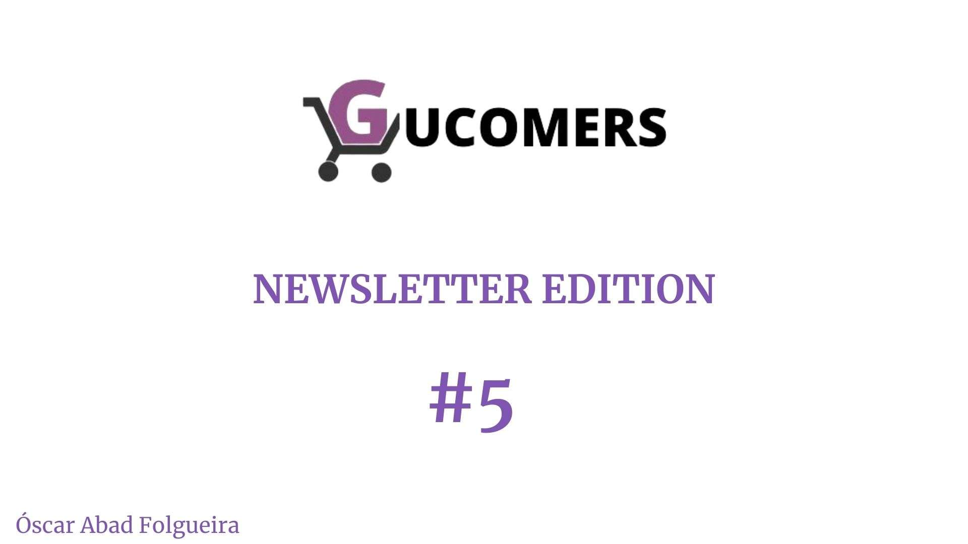 Newsletter Gucomers 5