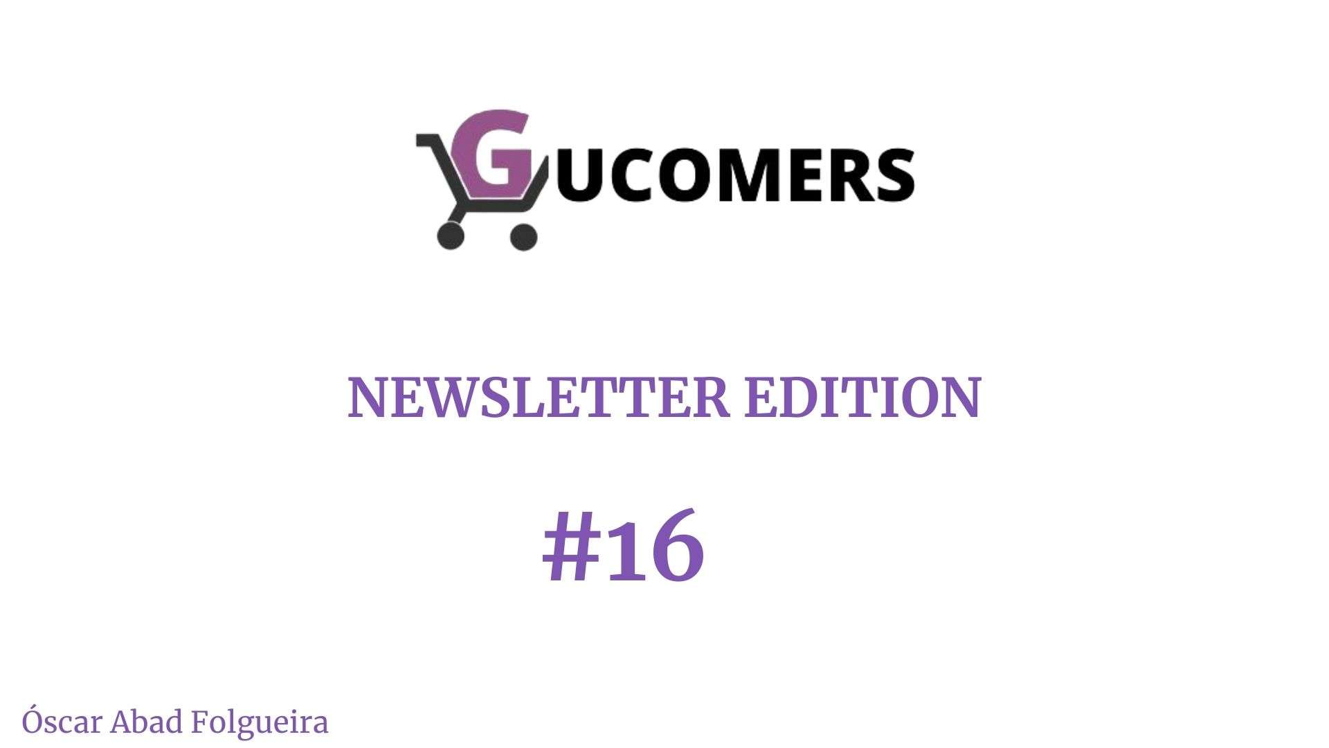 Newsletter Gucomers 16