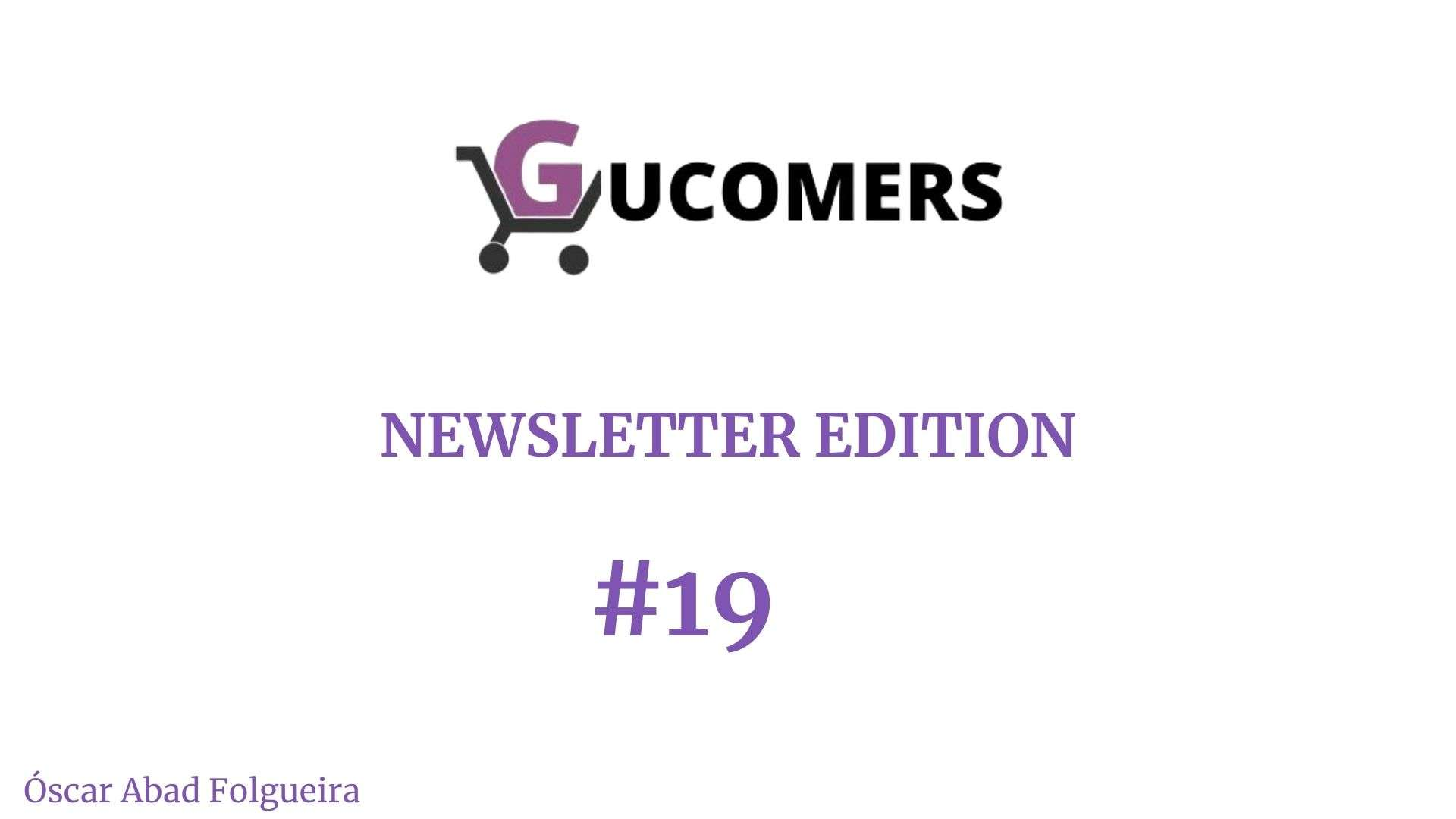 Newsletter Gucomers 19