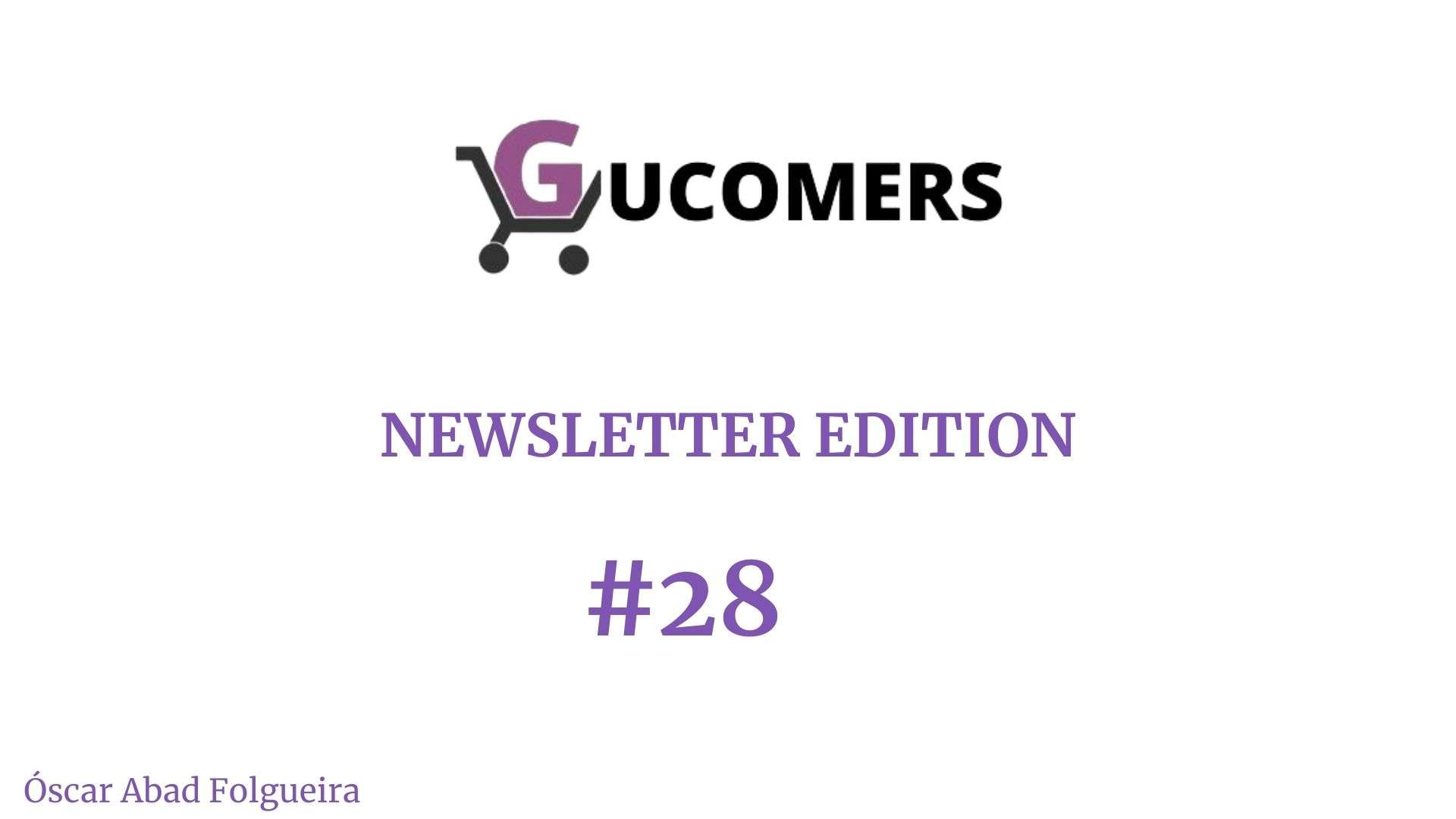 Newsletter Gucomers 28